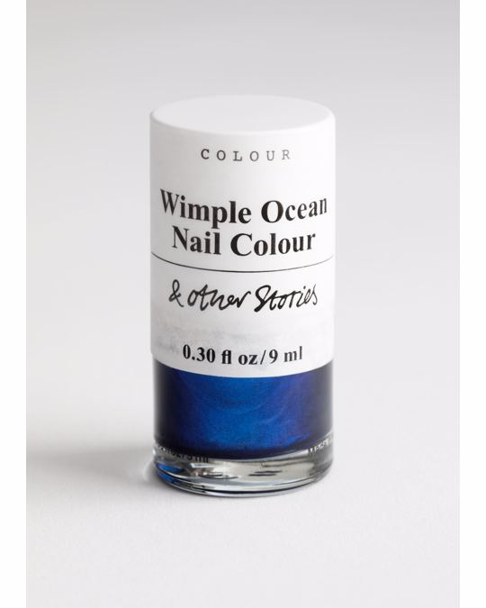 & Other Stories Nail Polish Wimple Ocean