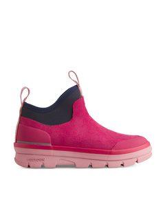 Tretorn Lunar Hybrid Boots Raspberry Red