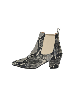 Chelsea Boot Collien With Snake Print