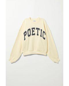 Pam Sweatshirt Yellow Poet