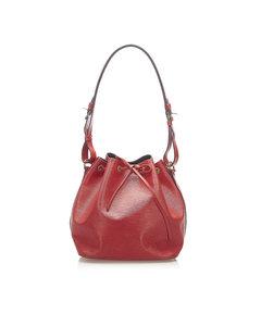 Louis Vuitton Epi Petit Noe Red