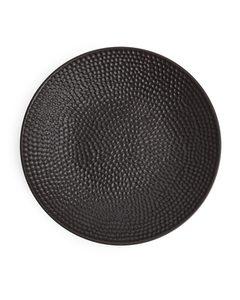 Textured Bowl 35 Cm Dark Brown