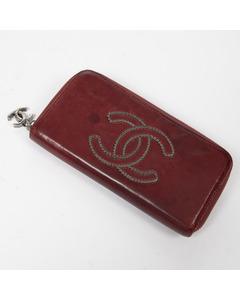 Cc Logo Zip Around Wallet