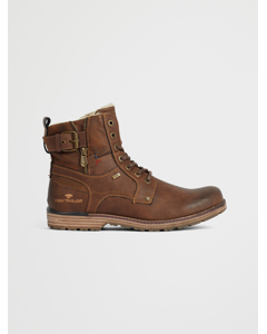Boots  Buckle Fur Rust