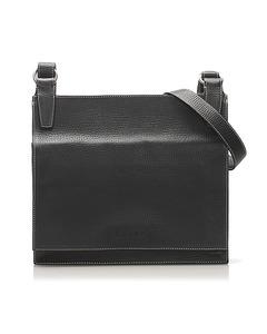 Loewe Leather Crossbody Bag Blue