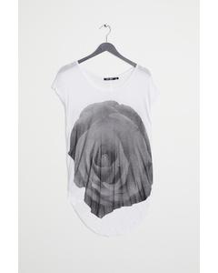 T-shirt 16 White With Black Pri