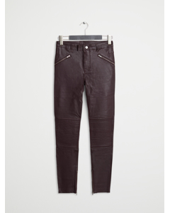 Leather Pant 1 Dark Ruby
