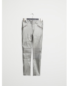 Leather Pant 1 Silver