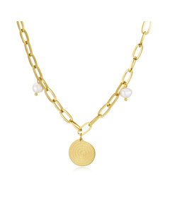 Bahamas Chain Necklace G Gold