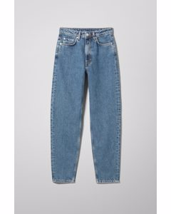 Lash Extra High Mom Jeans Standard Blue