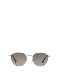 Po2445s Silver Zonnenbrillen
