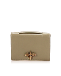 Dior Leather Pouch Brown