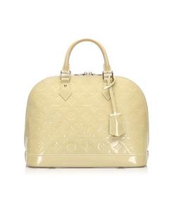 Louis Vuitton Vernis Alma Pm White