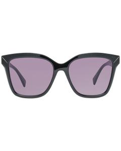 Yohji Yamamoto Mint Women Black Sunglasses Ys5002 55001 55-17-145 Mm