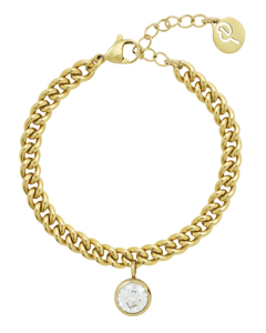 Lourdes Cz Armband Gold