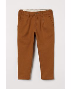 Chino Relaxed Fit Braun