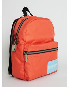 Nylon Backpack Orange
