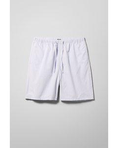 Amos Striped Shorts Pink