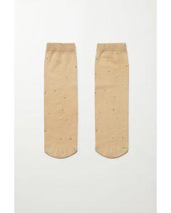 Stone Socks Beige