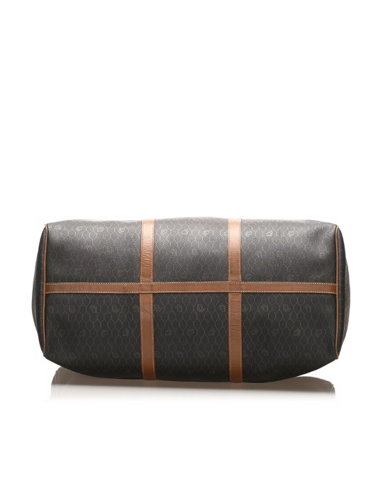 Christian Dior Dior Honeycomb Travel Bag Black