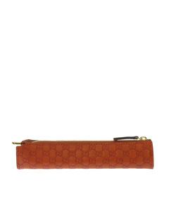 Gucci Microguccissima Pencil Case Orange