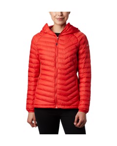 Powder Pass™ Hooded Jacket Bold Orange