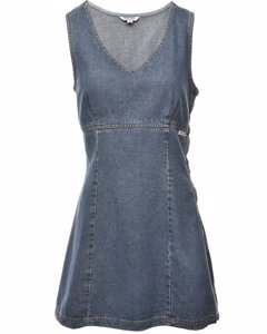 2000s Guess Jeans Sleeveless Denim Dress