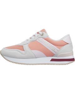 Feminine Active City Runner Sneakers Pink