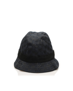 Gucci Nylon Bucket Hat Black