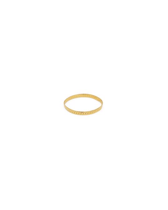 Syster P Herringbone Ring Gold