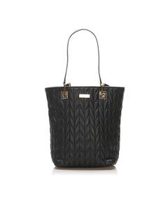 Gucci Matelasse Leather Shoulder Bag Black