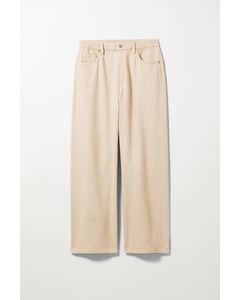 Linear Jeans Beige