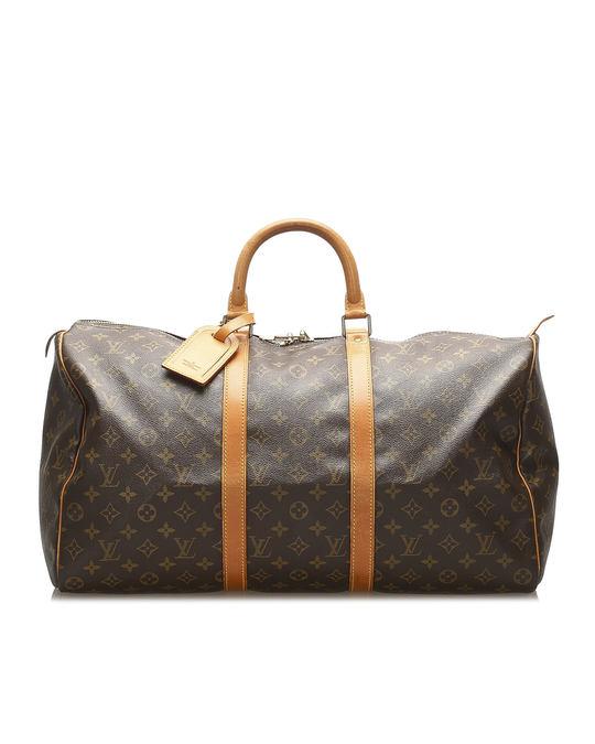Louis Vuitton Louis Vuitton Monogram Keepall 50 Brown