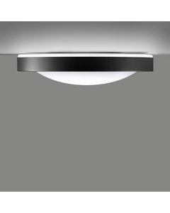 Alina - Plafondlamp Antraciet Grijs En Gouden Interieur