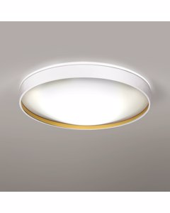 Alina - Plafond Licht Wit En Gouden Interieur