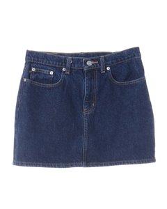 1990s Ralph Lauren Denim Skirt