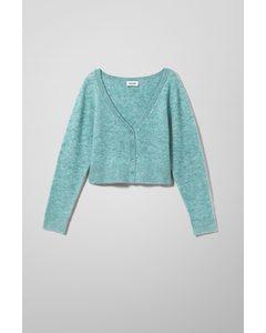 Tone Cardigan Turquoise