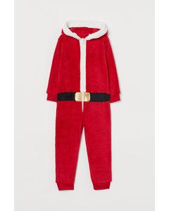 Verkleidungskostüm Rot/Weihnachtsmann