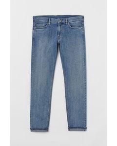 Slim Selvedge Jeans Blau/Washed