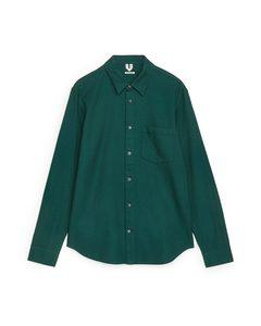 Shirt 13 Flannel Green