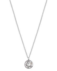 Diana Halsband Clear Crystal Steel
