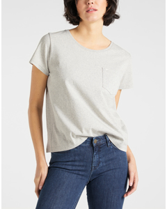 Sustainable Tee Grey Mele
