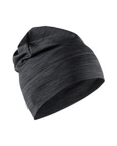 Melange Jersey High Hat - Black Melange-black-onesize