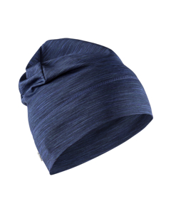 Melange Jersey High Hat - Maritime-blue-onesize