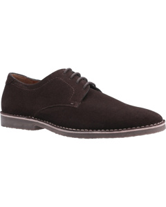 Hush Puppies Mens Archie Lace Up Leather Shoe