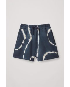 Sweat Shorts Blue / White