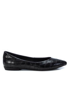 Pu Ladies Ballerinas Black