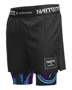 Shorts Ango Ango Black Placed Naito