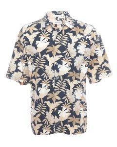 1990s Foliage Hawaiian Shirt
