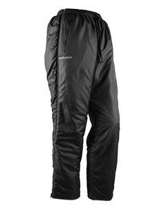 Padded Zip Pants Women Black